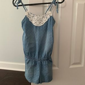 One piece Romper shorts